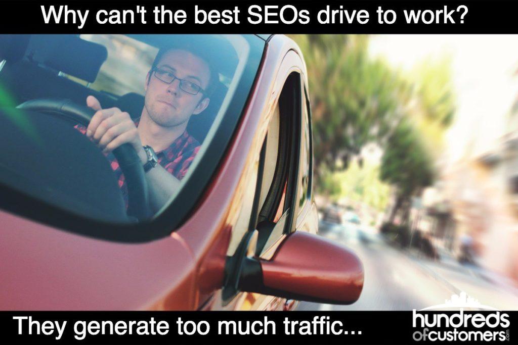 SEO Joke Generate Traffic