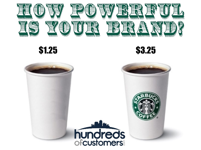 Starbucks Brand Makes $1 coffee with $3